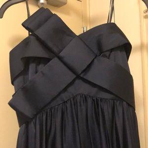 Elegant, flowing formal dress
